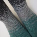 Dip Dye Socks