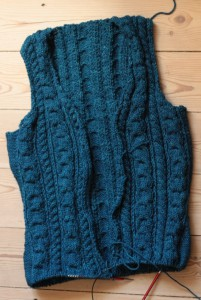 #jojifallkal2014 - Grandpa Cardigan in progress